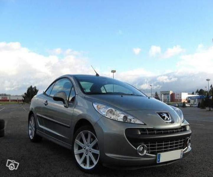 annonce Peugeot 207 CC 1.6 thp occasion