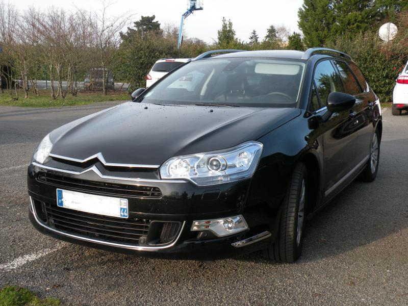 citroen c5 tourer hdi 140 exclusive d u0026 39 occasion  break