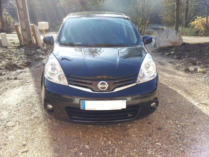 nissan note life 86 ch dci d 39 occasion monospace diesel de 2009 en vente plancher les mines. Black Bedroom Furniture Sets. Home Design Ideas